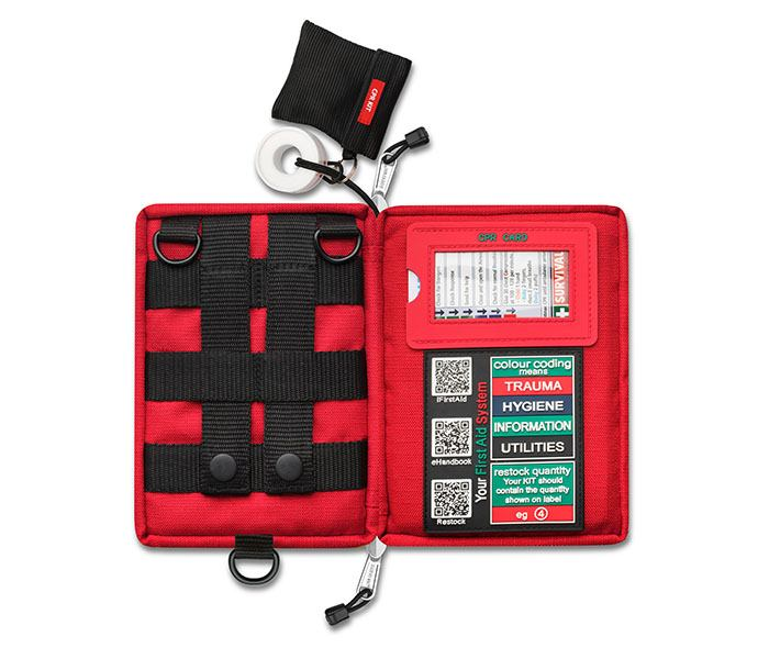 First-aid kits can save a life