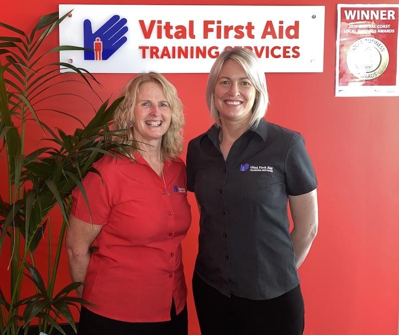 Vital First Aid Training team