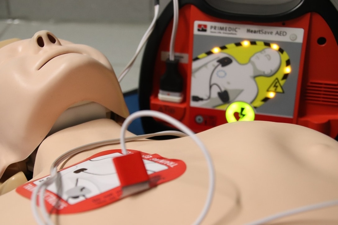 Blended courses in first aid training